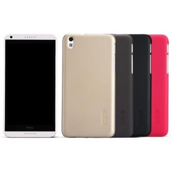 Пластиковый матовый премиум чехол для HTC Desire 816