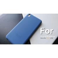 Силиконовый чехол софт-тач премиум для HTC Desire 816 Синий