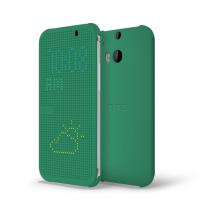 Оригинальный чехол флип серия Holes of Truth для HTC One 2 Зеленый