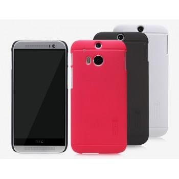 Пластиковый матовый чехол премиум для HTC One 2