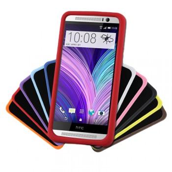Силиконовый премиум софт-тач чехол для HTC One 2