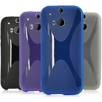 Силиконовый чехол X для HTC One 2
