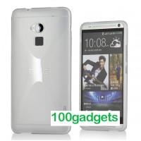 Силиконовый чехол X для HTC One Max Белый