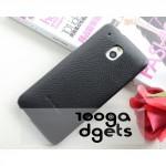 Кожаный чехол накладка Back Cover (нат. кожа) для HTC One Mini