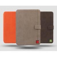 Кожаный чехол премиум смарт подставка (нат. винтажная кожа) для Ipad Mini 2 Retina
