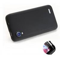 Силиконовый чехол для Lenovo IdeaPhone S720 Черный