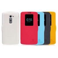 Чехол смарт флип с окном вызова серия Colors для LG Optimus G2 mini