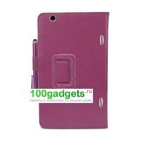 Чехол подставка с внутренними отсеками серия Full Cover для LG G Pad 8.3 Фиолетовый