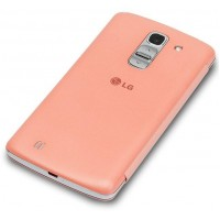 Оригинальный чехол флип NFC Quick Window для Lg G Pro 2 Розовый