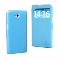 Чехол флип серия Colors для LG G Pro Lite Dual Голубой