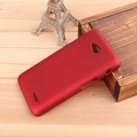 Пластиковый чехол для LG L70 Красный