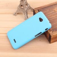 Пластиковый чехол для LG L70 Голубой