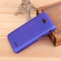 Пластиковый чехол для LG L70 Синий