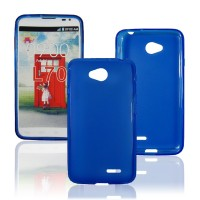 Силиконовый чехол для LG L70 Синий