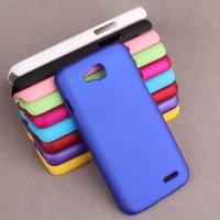 Пластиковый чехол для LG L90 Синий