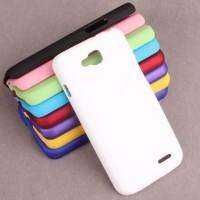 Пластиковый чехол для LG L90 Белый