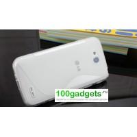 Силиконовый чехол S для LG L90 Белый