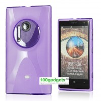 Силиконовый чехол X для Nokia Lumia 1020 Фиолетовый