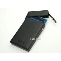 Чехол кожаный натуральный премиум (тип зажигалка) для Nokia Lumia 925