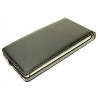 Чехол вертикальная книжка для Nokia Lumia 925 Черный