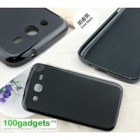 Силиконовый чехол для Samsung Galaxy Mega 5.8 GT-I9152 Черный