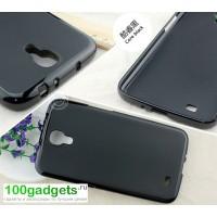 Силиконовый чехол для Samsung Galaxy Mega 6.3 GT-I9200 Черный