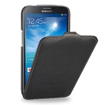 Кожаный чехол книжка (нат. кожа) для Samsung Galaxy Mega 6.3 GT-I9200