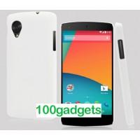 Пластиковый чехол для Google Nexus 5 Белый