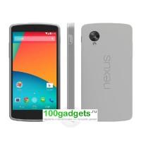 Оригинальный силиконовый чехол для Google Nexus 5 Серый