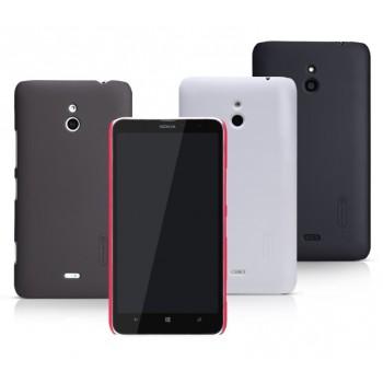 Пластиковый матовый премиум чехол для Nokia Lumia 1320