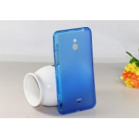 Силиконовый чехол для Nokia Lumia 1320 Синий
