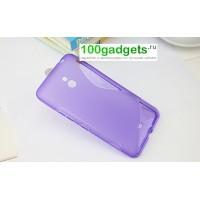 Силиконовый чехол S для Nokia Lumia 1320 Фиолетовый