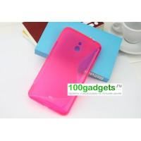 Силиконовый чехол S для Nokia Lumia 1320 Розовый
