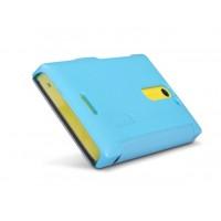 Чехол флип серия Colors для Nokia Asha 502 Голубой