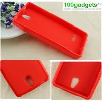 Силиконовый чехол для Nokia 515 Красный