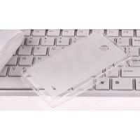 Силиконовый чехол для Nokia X Белый