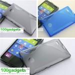 Силиконовый чехол S для Nokia X