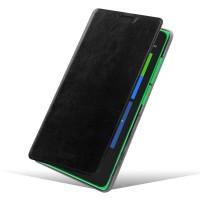 Чехол флип подставка водоотталкивающий для Nokia XL Черный