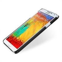 Кожаный чехол накладка Back Cover (нат. кожа) для Galaxy Note 3