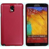 Пластиковый чехол с кожаным покрытием серия Leather Pretender для Samsung Galaxy Note 3 Красный