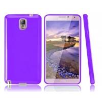 Силиконовый чехол для Galaxy Note 3 Фиолетовый