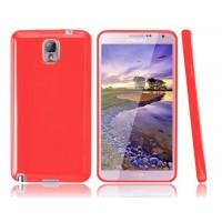 Силиконовый чехол для Galaxy Note 3 Красный