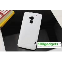 Силиконовый чехол S для HTC One Max Белый
