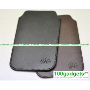 Кожаный мешок для Huawei Ascend P6