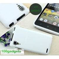 Силиконовый чехол для Lenovo P780 Ideaphone Белый