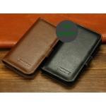 Кожаный чехол портмоне (нат. кожа) для Philips W6610 Xenium