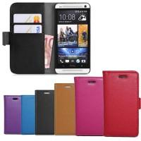 Чехол портмоне подставка для HTC One Max