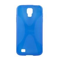 Силиконовый чехол X для Samsung Galaxy S4 Active Голубой