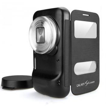 Чехол флип Full Photo Cover с окном вызова и свайпом для Samsung Galaxy S4 Zoom