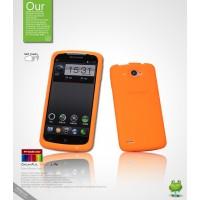 Силиконовый чехол премиум для Lenovo IdeaPhone S920 Оранжевый